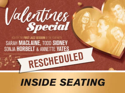Valentine Poster rescheduled